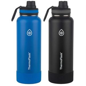 Thermoflask Stainless Steel 24 oz Water Bottle, 2-